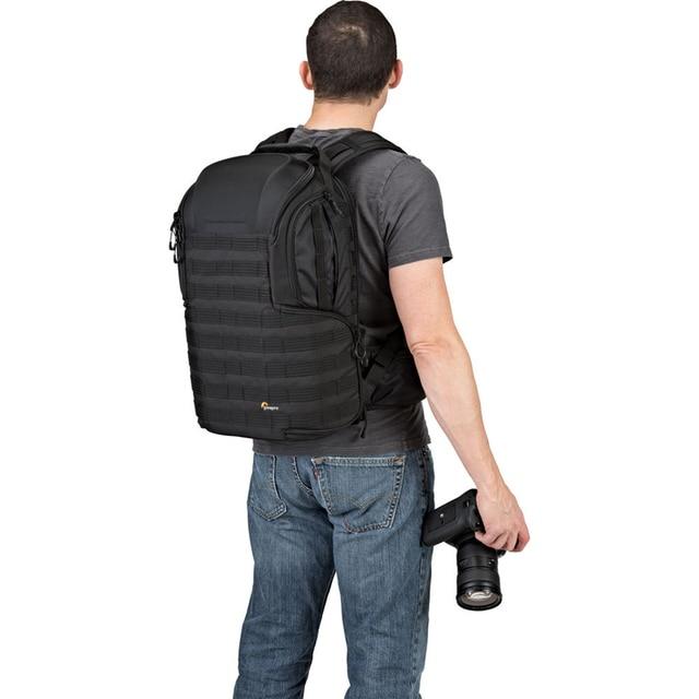 Lowepro protactic bp 450 aw ii mochila para dslr padrão ou pro câmeras mirrorless 15 polegada bolsa para portátil com todas as condições meteorológicas cobrir 3