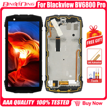 100% оригинал для Blackview BV6800 Pro LCD и сенсорный экран дигитайзер с рамкой модуль дисплея аксессуары Запасные инструменты