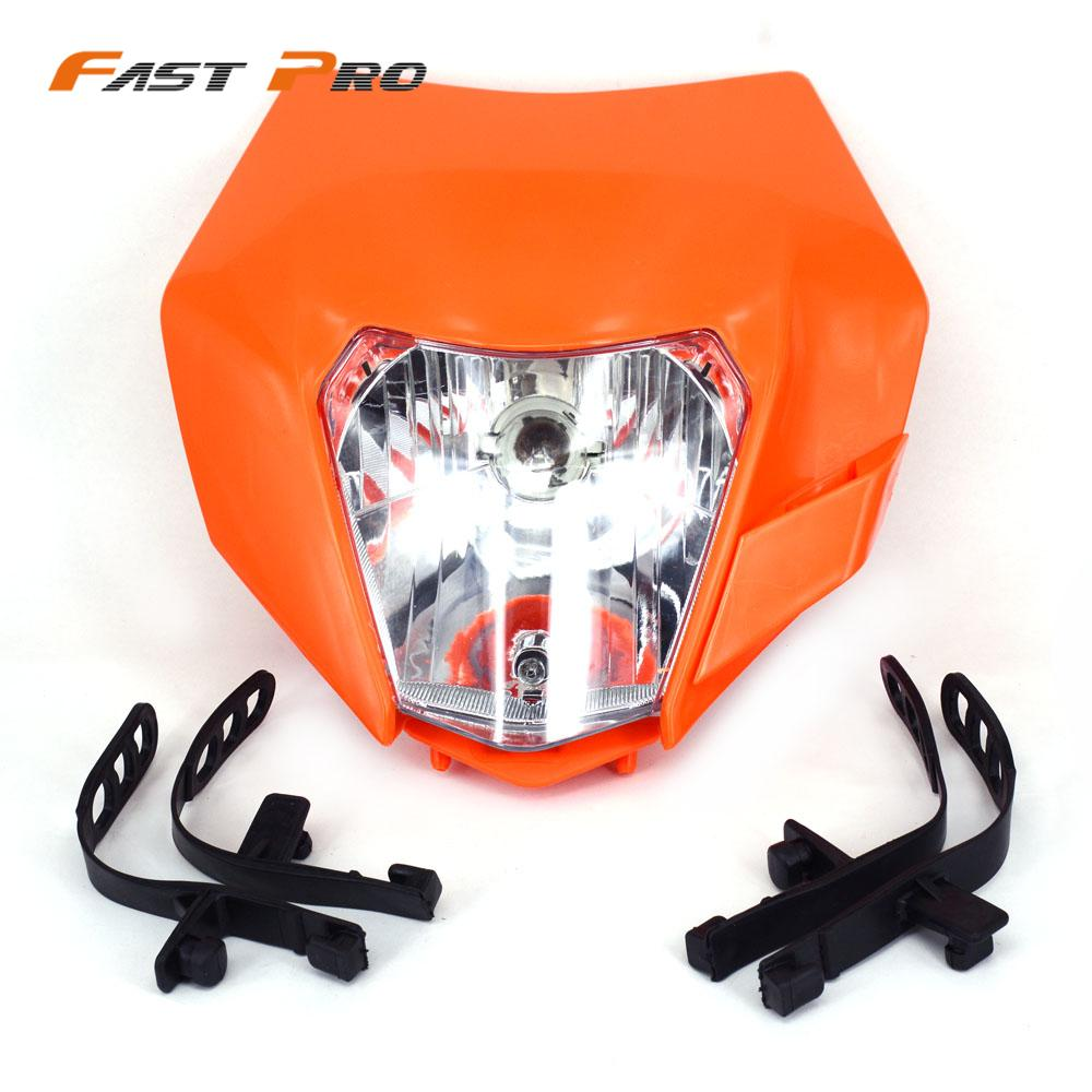 Universal Motorcycle 2016 Supermoto Headlight Fairing Mounting For KTM SMR EXC XC XCF XCW SX SXF Enduro Dirt Bike Motocross