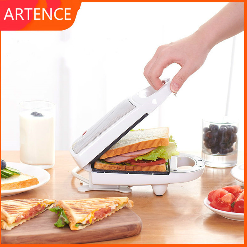 Electric Iron Sandwich Maker Machine Egg Cake Oven Breakfast Machine 220V Sandwichera Electrica Multifunctional