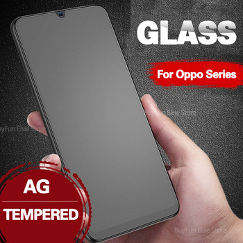 Перейти на Алиэкспресс и купить Матовое закаленное стекло для Oppo A3 A5 A9 2020 A3s F11 R17 Pro A11X Reno 5G A 2 2F 2Z 9D Защитное стекло для экрана Защитная пленка