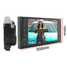 Android 8.1 2Din Car Radio Stereo 7 Inch Capacitive Press Screen High Definition Gps Navigation Bluetooth for Toyota Old Camry C
