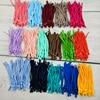 50/100pcs 5mm Adjustable Mask Elastic Band Cord with Buckle Stretchy Masks Earloop Lanyard Earmuff Rope Foe DIY Making Supplies