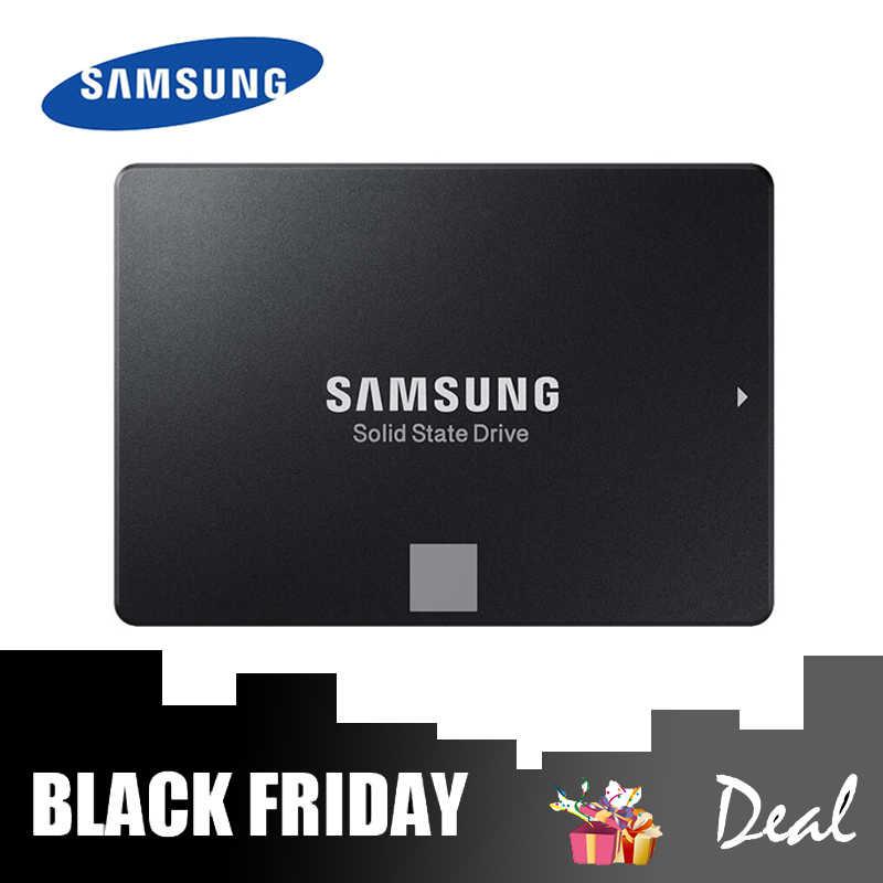 SSD SAMSUNG 860 EVO dysk półprzewodnikowy 500gb do laptopa Disco Duro Interno 250 GB/1 TB msata SSD NAND SSD Notebook dysk twardy SSD