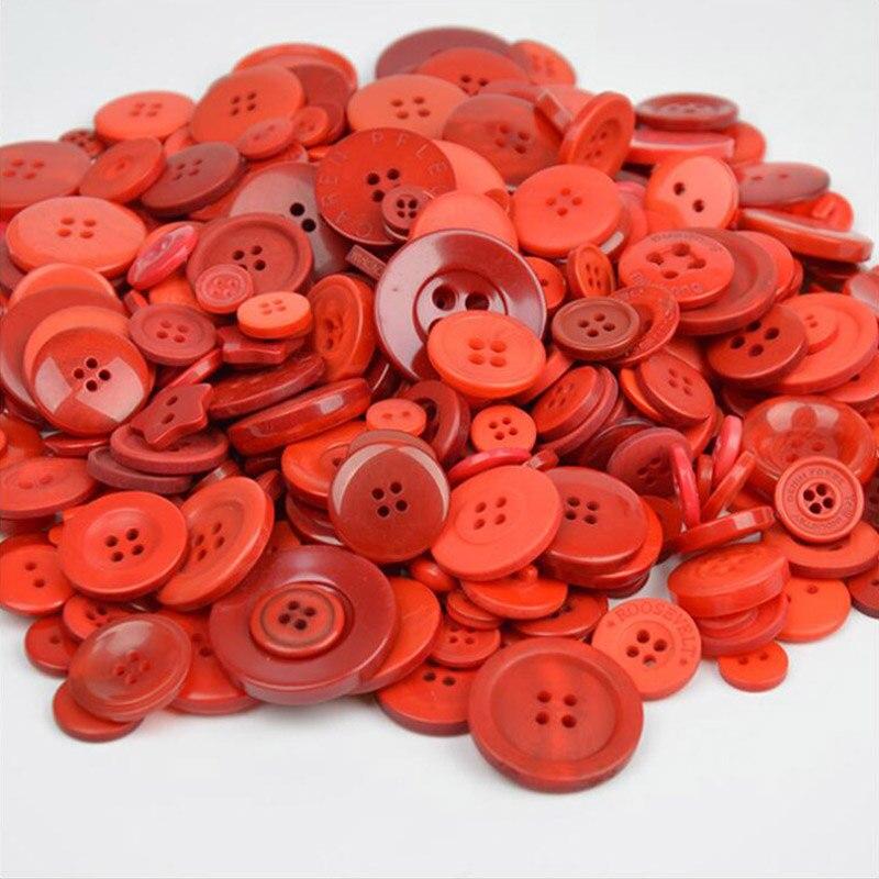 50g mixtas surtidas de los botones de color pastel