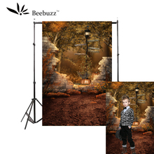 Beebuzz photo backdrop halloween new product the wilderness style background a party photographic aid