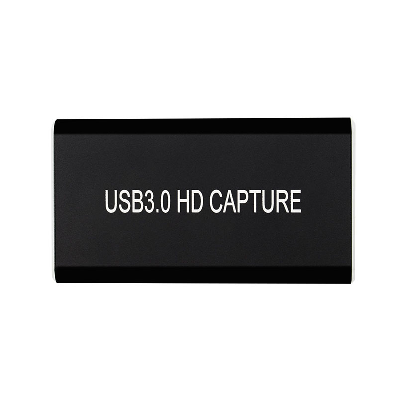 <font><b>USB</b></font> <font><b>3.0</b></font> <font><b>HDMI</b></font> o Video <font><b>Capture</b></font> <font><b>Card</b></font> Device HD 1080P 60Hz Live Stream Game <font><b>Capture</b></font> for Win8 Windows 10 MAC Linux image