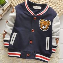 Hot Sale Spring and Autumn Cardiga Button Jacket Sportswear Cartoon Cotton Long Sleeved Children's Baby Boy's Coat