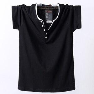 Image 3 - Plus Size 5XL 6XL 7XL 8XL Men Big Tall T shirt Short Sleeves Oversized T Shirt Cotton Male Large Top Tee Summer Fit T Shirt Men