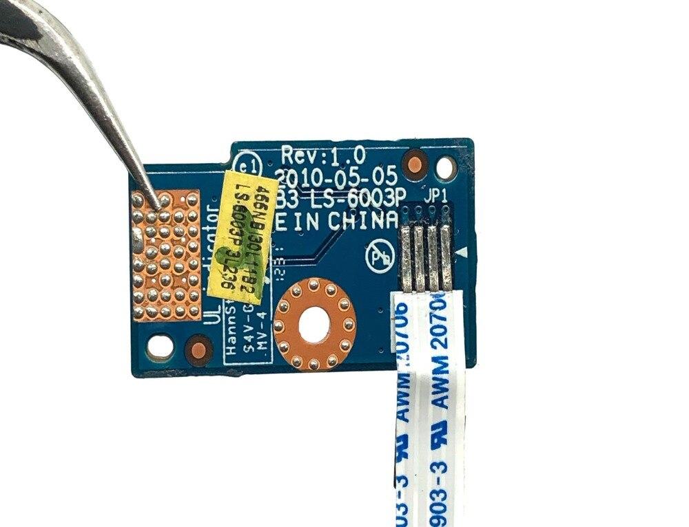 全新Compal BLB5 Power Strom Button Switch Board 电源按钮开关小板 LS-6003P NBX0000P000  466NBI30L11B2
