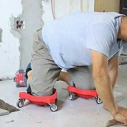 1 pçs rolamento joelheiras carpintaria renovação tijolo colocação pintado de trabalho pernas proteção ajustável strappy joelheiras