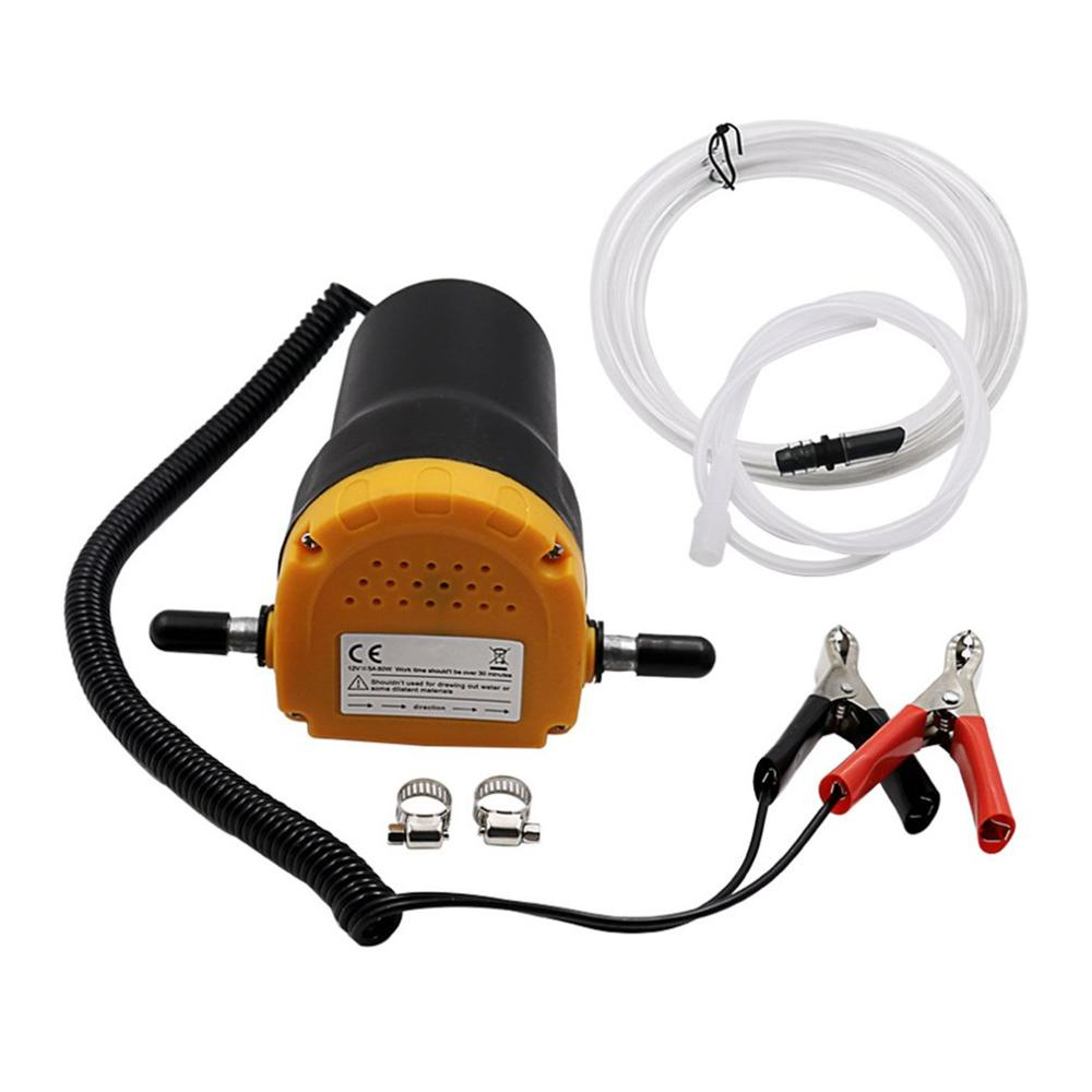 2020 Draagbare Mini 12V Brandstof Motorolie Diesel Pomp Extractor Elektrische Zelf Zuig Transfer Veranderen Pomp Scavenge Zuig voor Auto