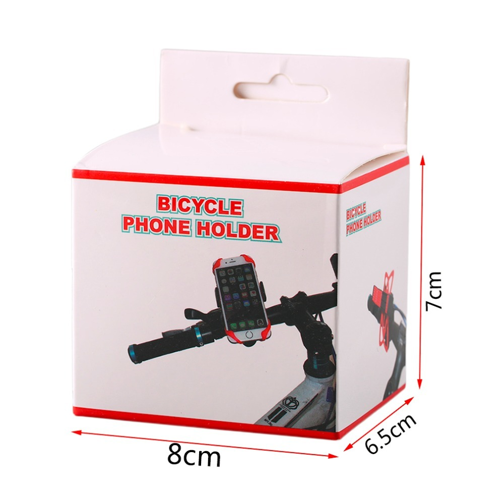 Bicycle Phone Holder 360 Degree Adjustable Motorcycle Bike Handlebar Universal Smartphone Mount Bracket for Bike GPS Navigation in Phone Holders Stands from Cellphones Telecommunications