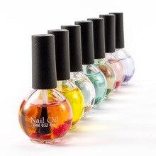 15ml nail Dried Flowers Softener Nutritional Cuticle Oil Treatment Nutritious Gel Polish Nail Art Tool Nail Care Nail Treatments