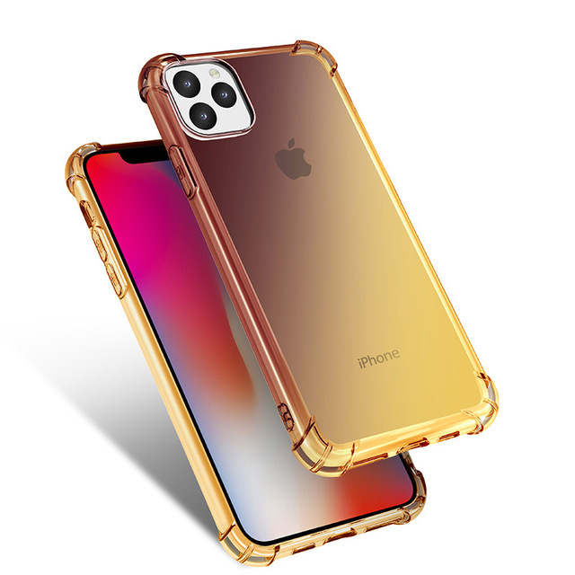Gradient Clear Silicone Case for iPhone 11/11 Pro/11 Pro Max 4