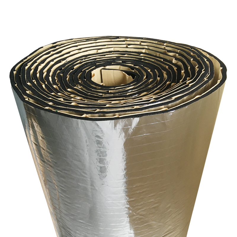 Hot Sales Aluminum Foil Heat Insulation Foam Plant Canopy Roof Sound Insulation Insulated Cotton Environmentally Friendly Self-A