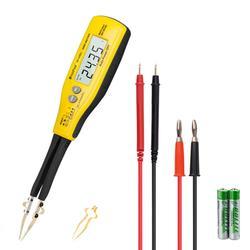 Цифровой измеритель емкости SMD, измеритель сопротивления диоду/батарее с корпусом для переноски, тест на аккумуляторную батарею e,rHoldPeak, HP-990C