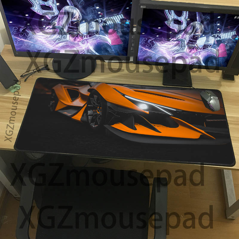 XGZ Large size mouse pad cool super running pattern table pad home computer office durable keyboard pad