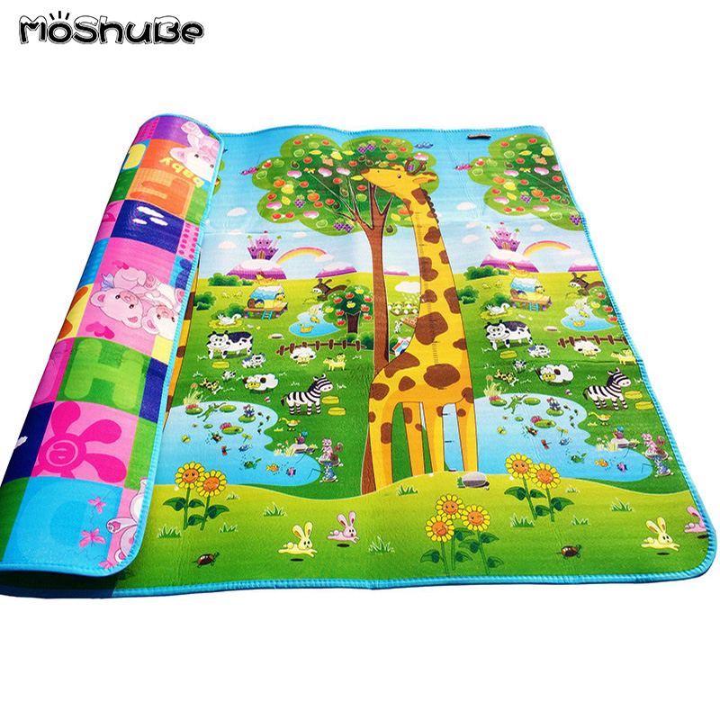 200*180*0.5cm Baby Crawling Gym Play Mat Children Puzzle Carpet  Kid Toy Developing Gym Rug Eva Foam Carpet Soft Floor Playmat