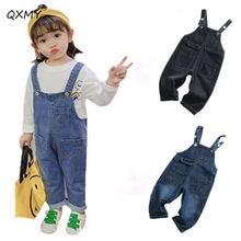 Детские джинсовые комбинезоны для детей; Для мальчиков и девочек