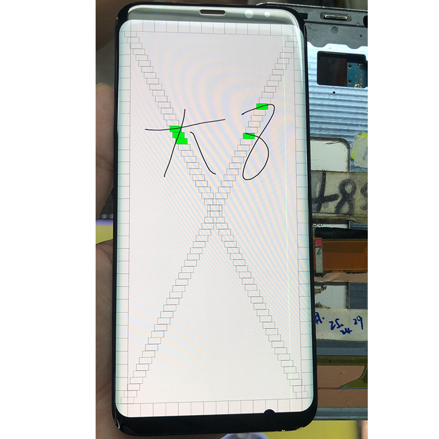 For Samsung S8 Plus LCD Display Touch G955 LCD Display For Samsung S8 Plus LCD Band Line Display Mobile Phone Defective Screen