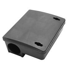 Промо-акция! Профессиональный грызун приманка блок станция коробка ловушка и ключ для Крыса Мышь Мыши