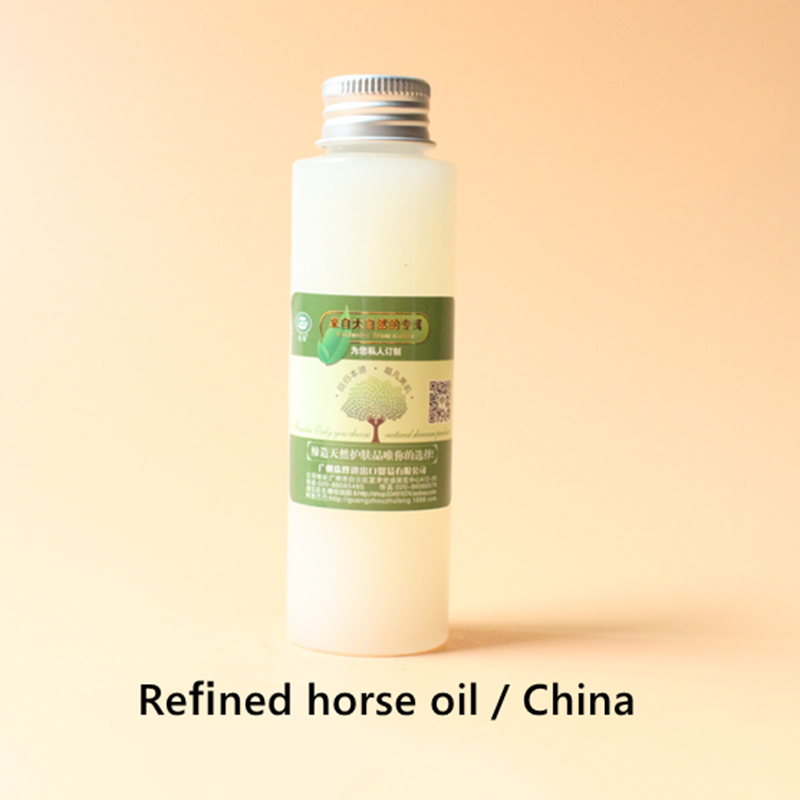 Купить с кэшбэком Refined horse oil China, suitable for all skin, anti-inflammatory and anti stain, repair skin cells, replenish water and moistur