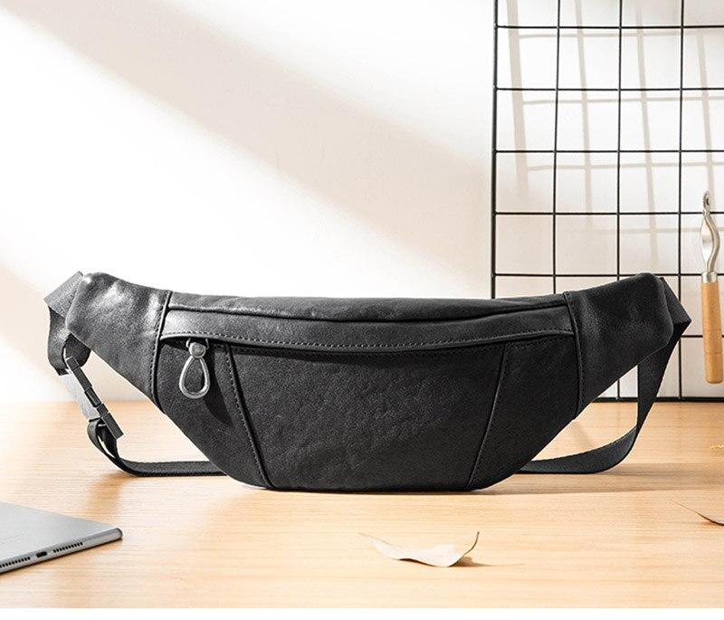 masculino único ombro inclinado saco