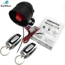 SieNSen evrensel 12V araba Alarm sistemi ile ACC/titreşim/gövde/kapı tetik Alarm fonksiyonları kolay kurulum m810