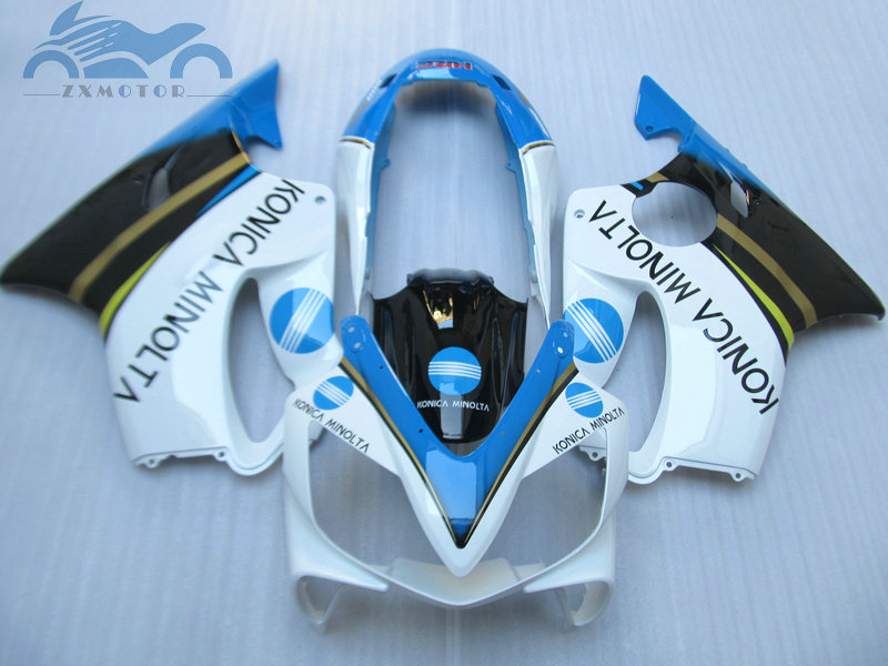 Custom you Injection fairing kit fit for <font><b>Honda</b></font> CBR 600F4i 2001 2002 2003 <font><b>CBR600F4i</b></font> 01 02 03 aftermarket fairing kits <font><b>parts</b></font> HT25 image