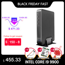 Игровой Настольный ПК Intel Core i9-9900 i7-9700 i5-9400F GTX 1650 GDDR6 4 ГБ 2 * DDR4 Мини ПК Windows 10 м. 2 PCIE 4K HDMI2.0 DP Wi-Fi