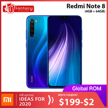 "Nieuwe Global Rom Xiaomi Redmi Note 8 4 Gb 64 Gb 48MP Quad Camera Smartphone Snapdragon 665 Octa Core 6.3 ""Fhd Screen 4000 Mah(China)"