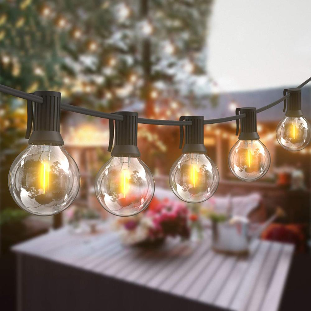 Outdoor Patio Fairy String Lights 10 25