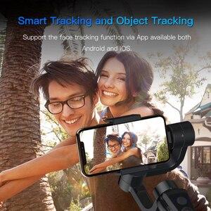 Image 5 - KEELEAD stabilisateur de cardan S5B 3 axes bluetooth portable avec mise au point et zoom pour téléphone Xs Xr X 8 Plus 7 caméra daction