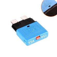 15A Sicherung 12 v/24 v Passt Circuit Breaker Klinge Automotive Auto Kit Rückstellbare Inline-Sicherung Halter Schutz Stereo manuelle Reset
