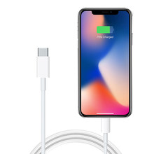 Asli PD Cepat Pengisian Kabel untuk Apple iPhone 11 Pro 8 Plus X XR X Max Ipad Asli 1 M USB-C untuk 8 Pin Kabel Sinkronisasi Data(China)
