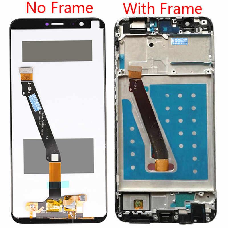لهواوي P الذكية التين LX1 L21 L22 LCD عرض تعمل باللمس محول الأرقام الجمعية التمتع 7S LCD استبدال الشاشة مع الإطار