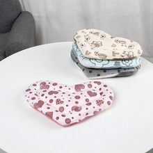 Warm Cotton Heart Small Animal Sleep Mat Pad Bed Cushion Nest For Hamster Hedgehog Squirrel Mice Rats Cage Pet Supplies(China)