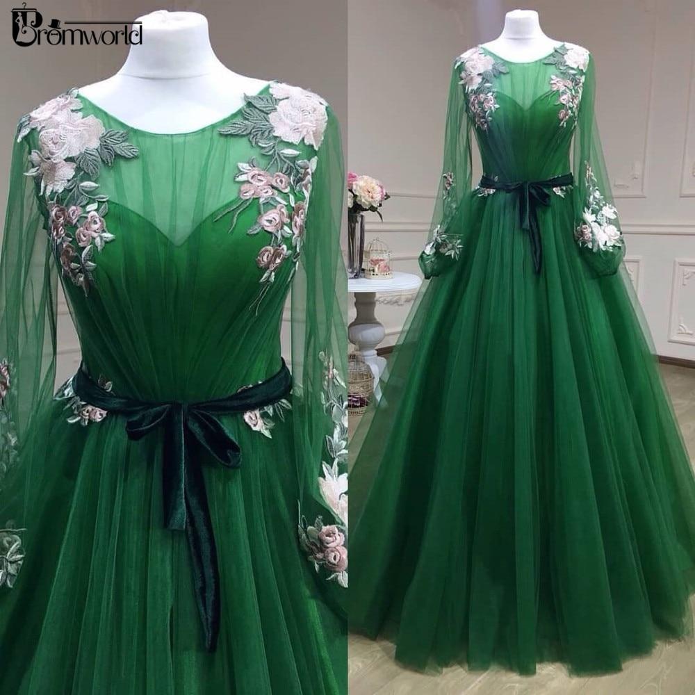 long sleeve emerald green homecoming dresses