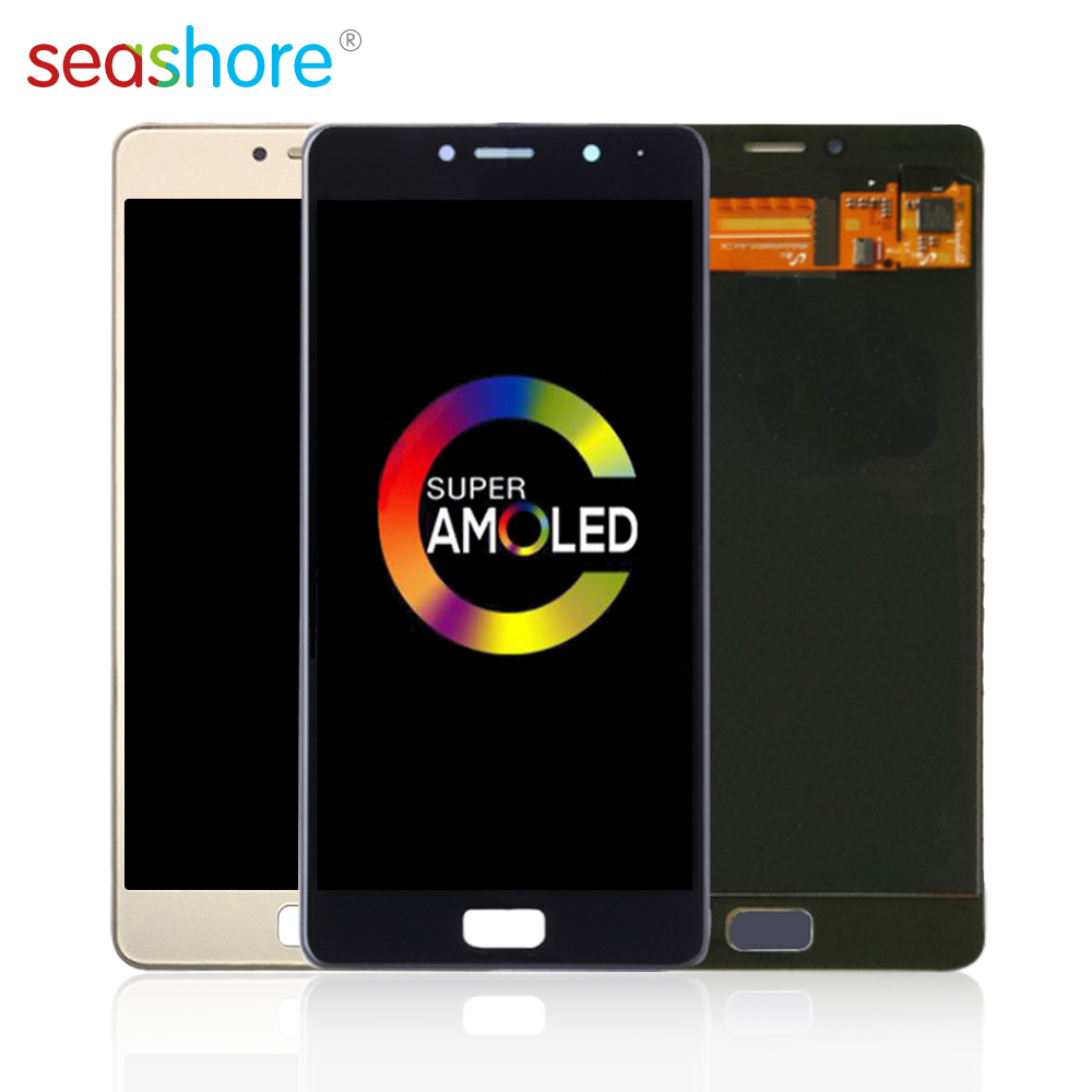 "5.5""ORIGINAL For LENOVO Vibe P2 LCD Touch Screen Digitizer Assembly For Lenovo P2 Display with Frame Replacement P1ma40 Screen"