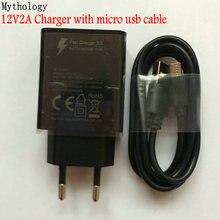 Power Adapter Für Original Doogee S60 Lite BL12000 Quick Charge Reise EU Plug Adapter Micro USB Kabel 12V 2A