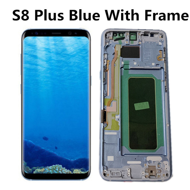 S8 Plus Blue Frame