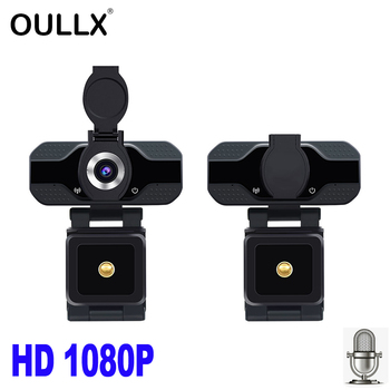 OULLX HD 1080P Webcam Built-in Microphone Smart Web Camera USB Pro Camera for Desktop Laptops PC Game Cam For OS Windows Android