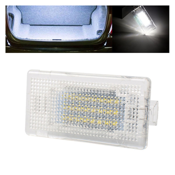 2/4x Universal 12V 24LED Car Trunk Boot Interior Light For BMW E90 E92 E66 E61 E90 LCI F01 F02 Luggage Trunk Boot Glove Box Lamp image
