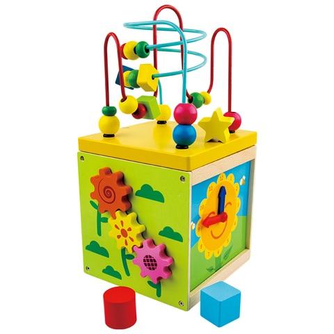 bebe de madeira montessori brinquedos em torno do granulo labirinto forma reconhecimento dos desenhos animados