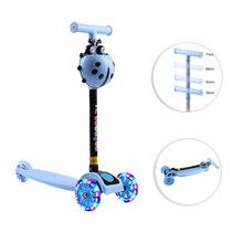 3-Wheel City-Roller Toys Scooter Kick Kids Children Skateboard for Led-Light-Up Gifts