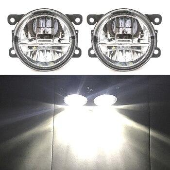 цена на for Mitsubishi ASX L200 Pajero 4 Outlander Grandis 2003-2015 Fog Lights 2pcs LED halogen fog lamp headlights fog light foglights