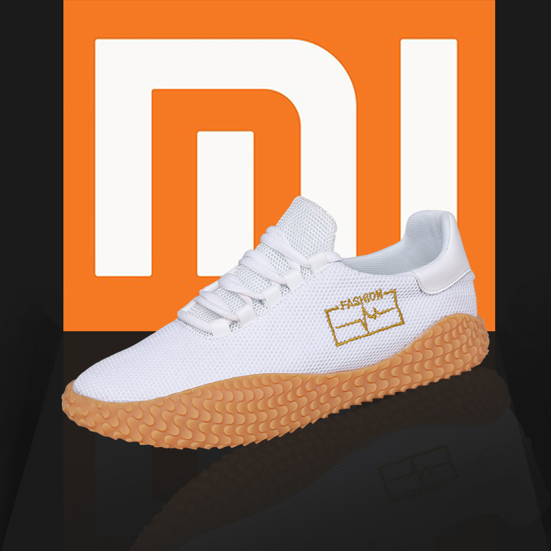 Xiaomi 2019 Breathable Men Sneakers Comfortable Soft Morning Running Cheap Man Shoes Outdoor Non-slip Running Shoes Big Size 46