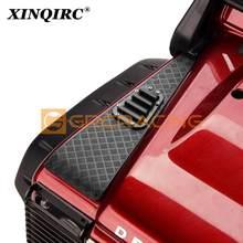 Nuevo Metal TRX 4 Anti-placa de deslizamiento de rejilla para 1:10 RC Crawler Traxxas TRX-4 TRX4 accesorios de coche