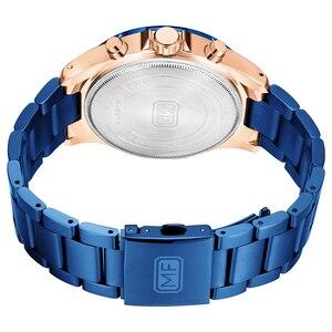 Image 5 - MINI FOCUS marque de luxe hommes montres en acier inoxydable 30m étanche multifonction Sport horloge hommes montre bracelet montre à Quartz homme